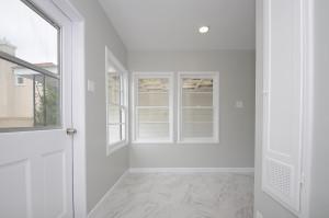13 Back door area